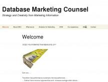 Database Marketing Counsel