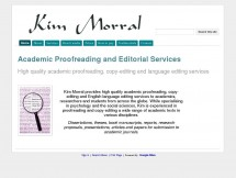 Academic Proofreading & Editorial Services