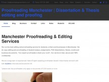 Proofreading Services Manchester